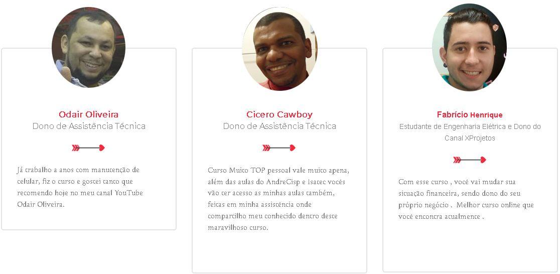 manutenão e conserto de celular André Cisp