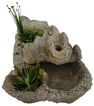 cascata de agua para jardim