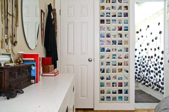 Colagem de fotos DIY