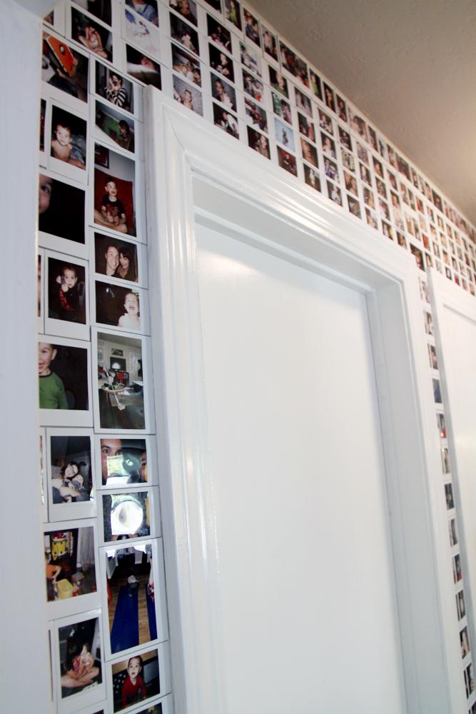 Faça Você Mesmo Instax Wall Photo Collage