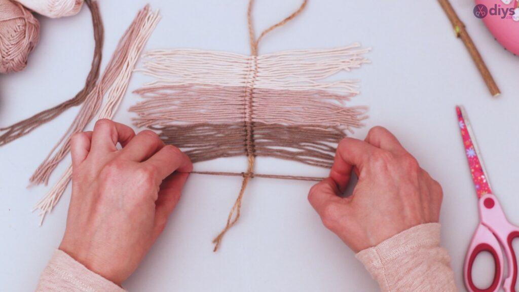 Tutorial de decoração de parede de folha de fio faça você mesmo (23)