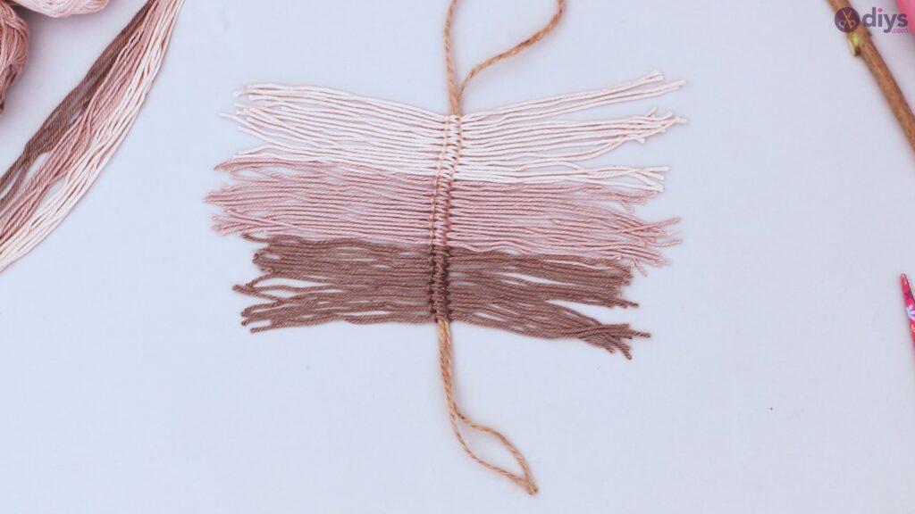 Tutorial de decoração de parede de folha de fio faça você mesmo (24)