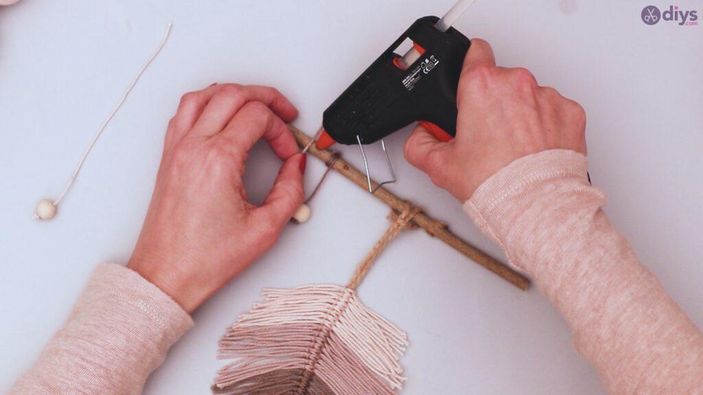 Tutorial de decoração de parede de folha de fio faça você mesmo (41)