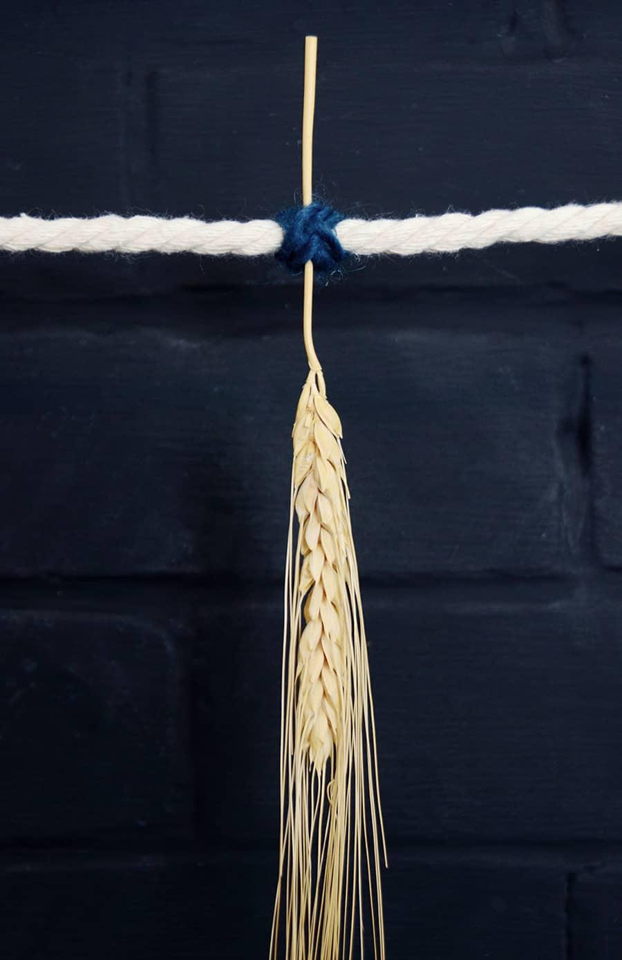 Grinalda de outono de trigo seco 9