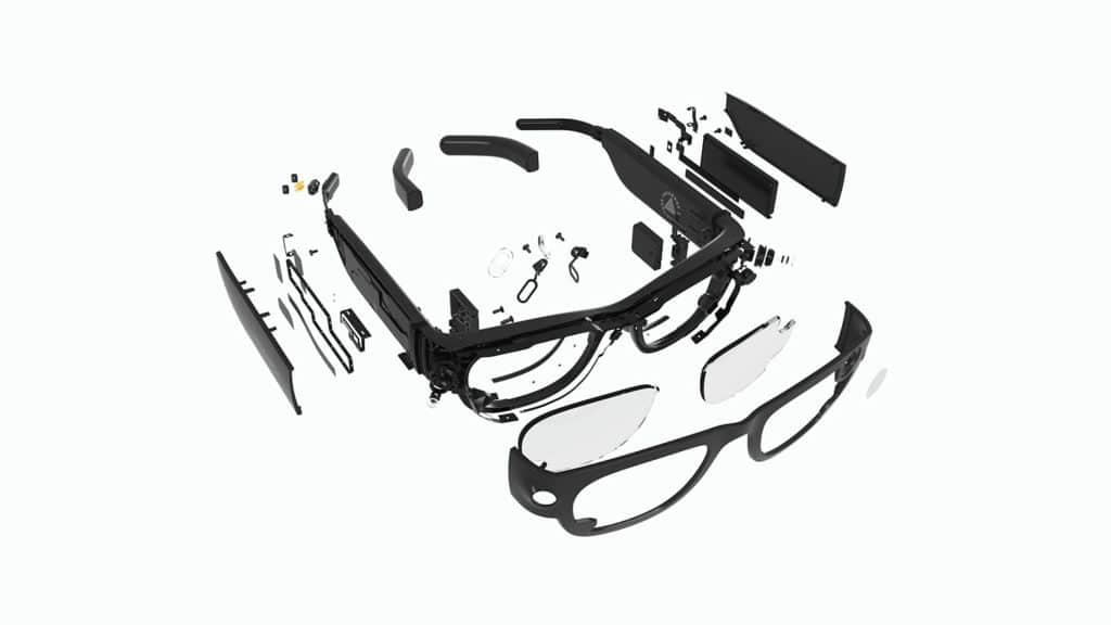 Os óculos Project Aria adicionam uma camada 3D de informações úteis, contextuais e significativas sobre o mundo físico.