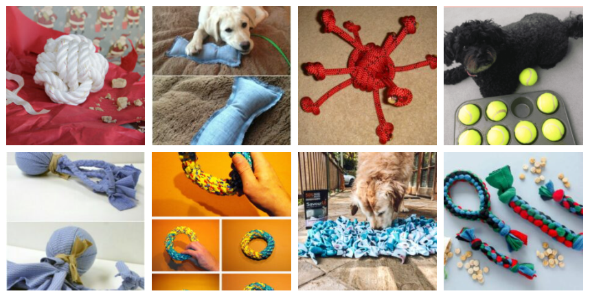 Brinquedos DIY Dog