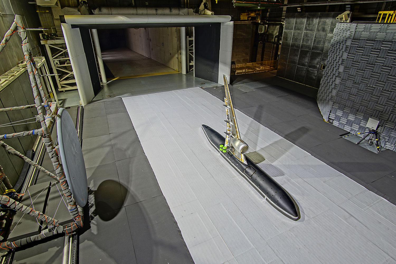A NASA está testando um novo design de asa silenciosa que reduzirá o ruído das aeronaves