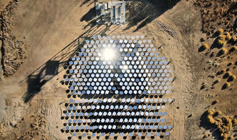 Tecnologia solar alimentada por IA da Heliogen para fornecer energia livre de carbono para uma mina gigante.