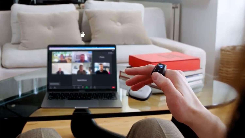 O anel inteligente do Genki Wave for Work pode controlar chamadas de zoom.