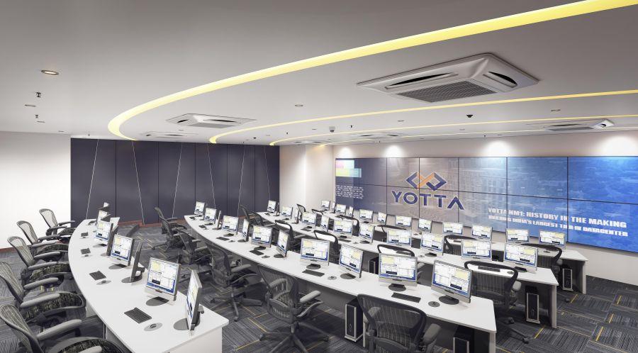 Centro de Operações de Rede em NM1, Navi Mumbai