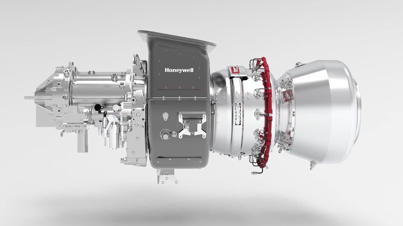Honeywell anuncia turbo gerador para alimentar aeronaves elétricas híbridas com biocombustível.
