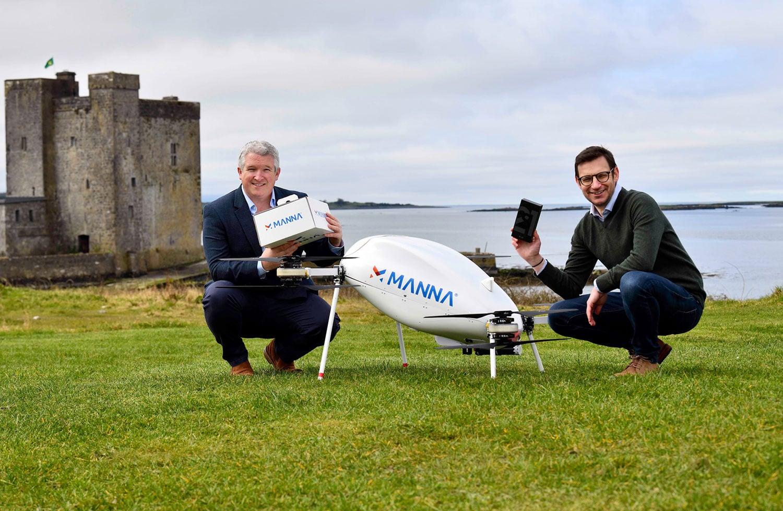 Samsung usa drones para entregar produtos Galaxy em minutos