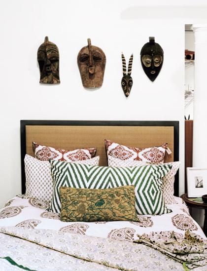 19 estilo boêmio da cama