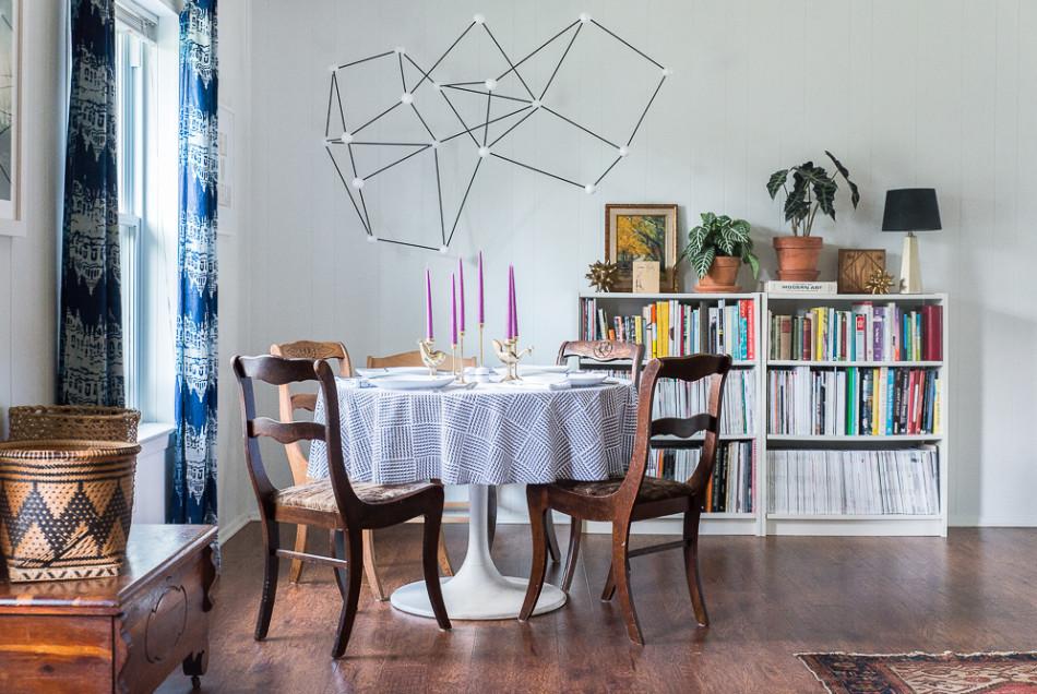 13 salas de jantar estilo boho