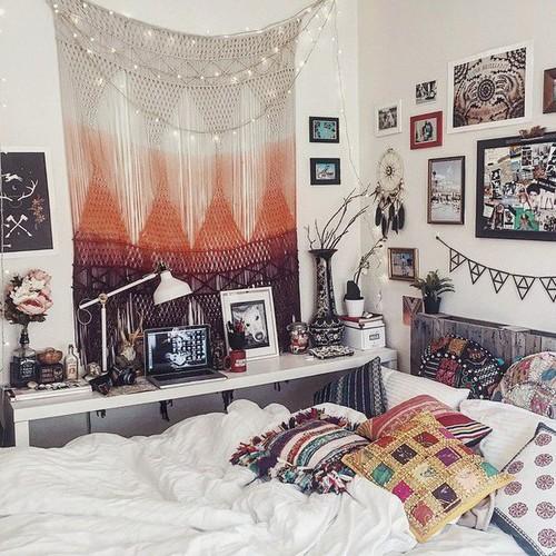 25 tapeçarias boêmias dormitório