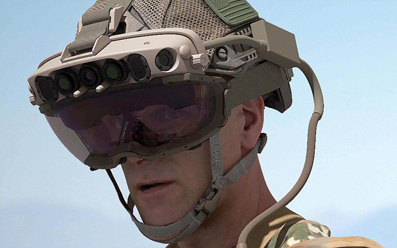 A Microsoft recebe pedido para fornecer ao Exército dos Estados Unidos um fone de ouvido com base em HoloLens.