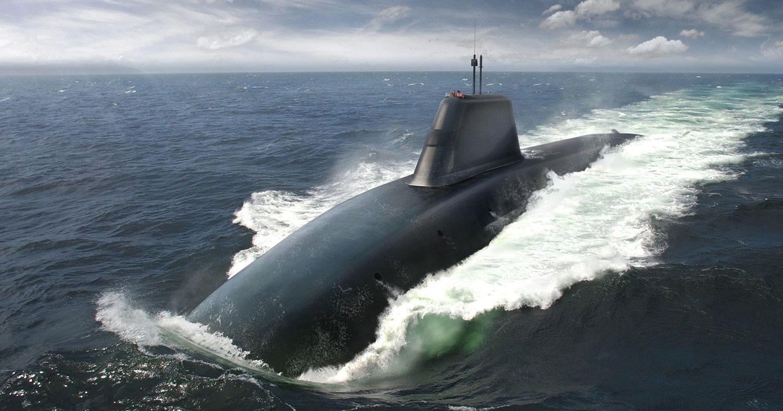 O submarino da classe British Dreadnought usará tecnologia de controle de vôo