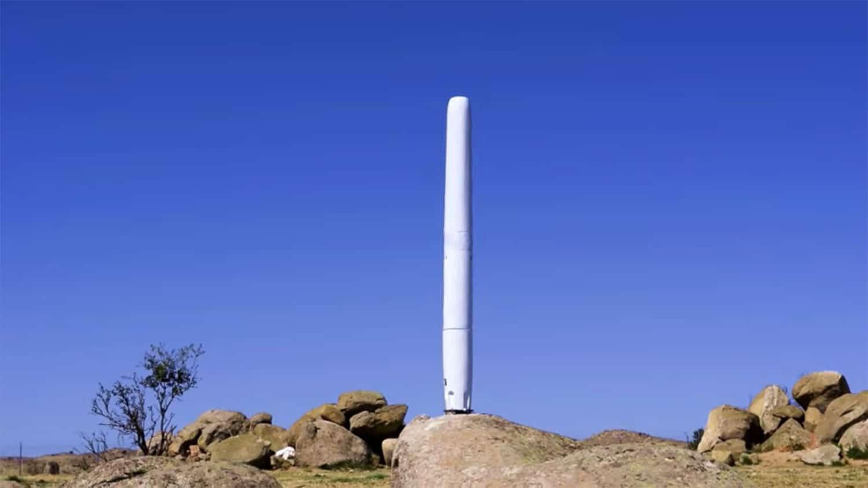 As turbinas eólicas Vortex Bladeless geram eletricidade a partir das vibrações.